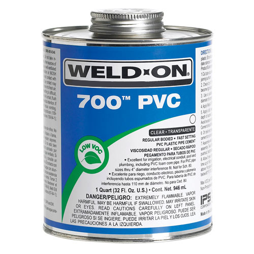 Pvc Solvent Cement : Pvc cements weld on