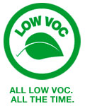 All Low VOC. All the time.